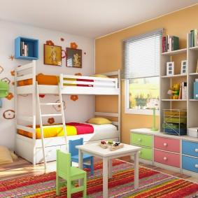 гарнитур в детской комнате фото оформление