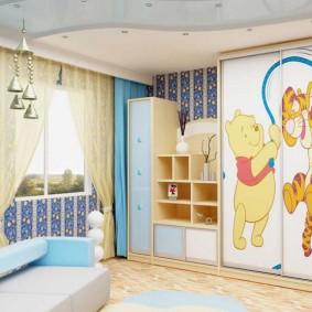 гарнитур в детской комнате оформление идеи