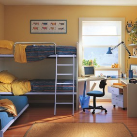 гарнитур в детской комнате дизайн