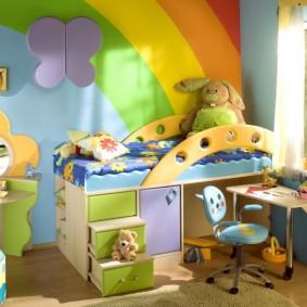 гарнитур в детской комнате варианты