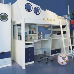гарнитур в детской комнате фото вариантов