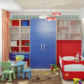 гарнитур в детской комнате фото дизайн