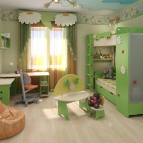 гарнитур в детской комнате фото дизайна