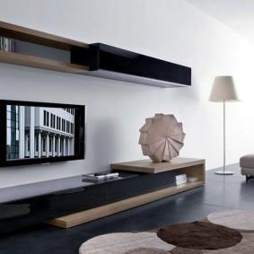 Стильная мебель в светлой комнате