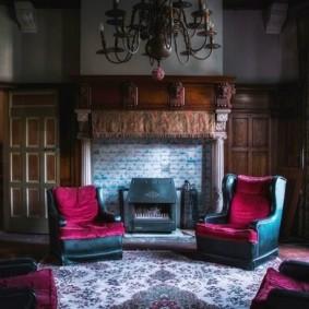 готический стиль интерьера