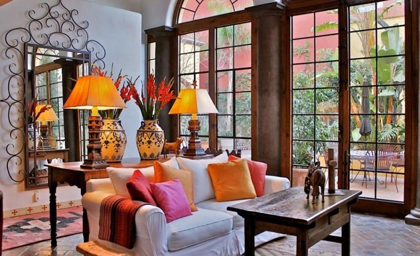 интерьер в испанском стиле