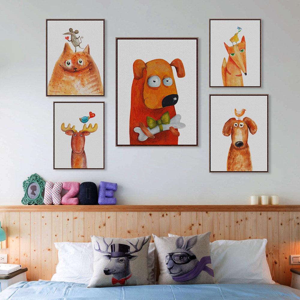 веселенькие картинки на стену домики хабаровске