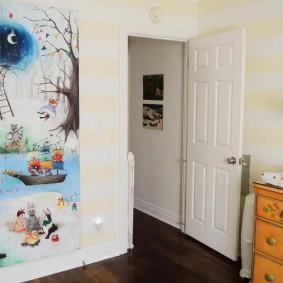 картины для детской комнаты декор фото