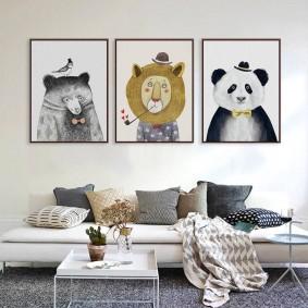 картины для детской комнаты фото декор
