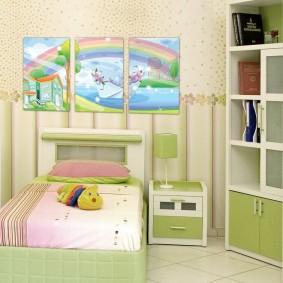 картины для детской комнаты идеи декора