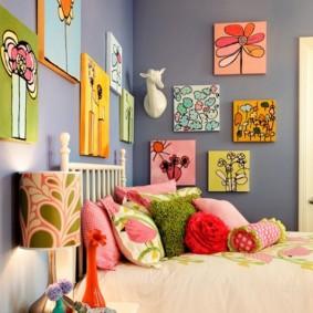 картины для детской комнаты дизайн