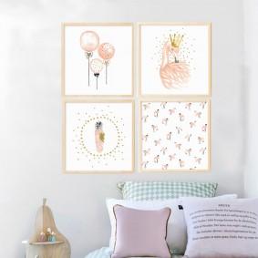 картины для детской комнаты идеи