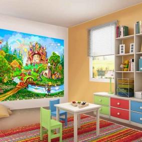 картины для детской комнаты фото оформления