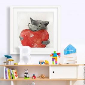 картины для детской комнаты идеи оформление