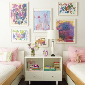 картины для детской комнаты виды