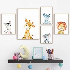 картины для детской комнаты виды фото