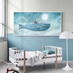 картины для детской комнаты виды декора