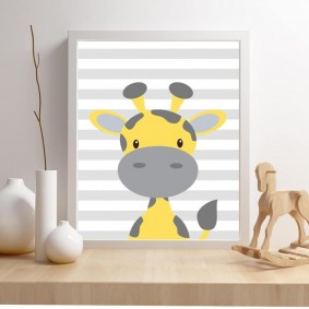 картины для детской комнаты виды дизайна