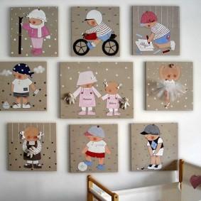 картины для детской комнаты фото дизайн