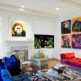 комната 16 кв м в однокомнатной квартире идеи дизайна