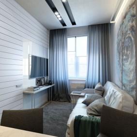 комната 16 кв м в однокомнатной квартире фото
