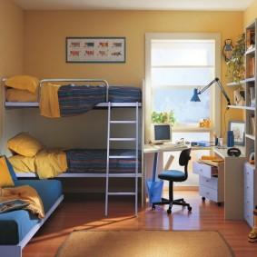комната 16 кв м в однокомнатной квартире интерьер