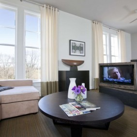 комната 16 кв м в однокомнатной квартире фото оформление