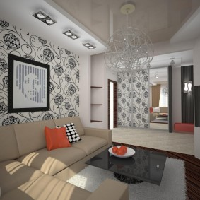 комната 16 кв м в однокомнатной квартире идеи