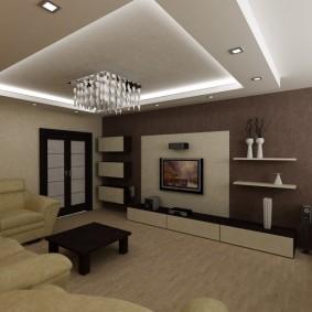комната 16 кв м в однокомнатной квартире оформление идеи