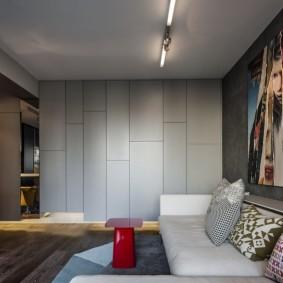 комната 16 кв м в однокомнатной квартире идеи вариантов