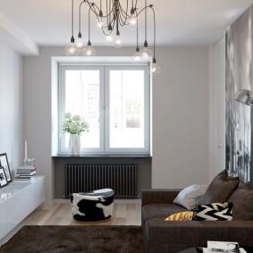 комната 16 кв м в однокомнатной квартире виды декора