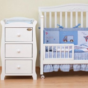 комод для детской комнаты декор фото