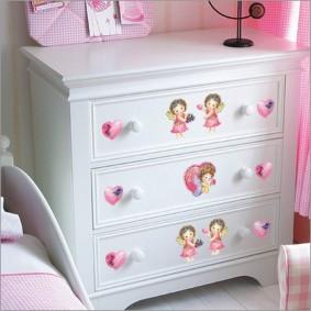 комод для детской комнаты фото декор