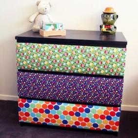 комод для детской комнаты фото декора