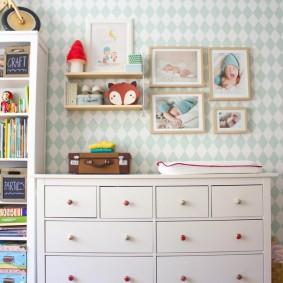 комод для детской комнаты декор идеи