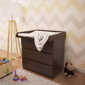 комод для детской комнаты идеи