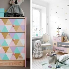 комод для детской комнаты идеи фото