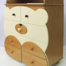 комод для детской комнаты идеи оформление