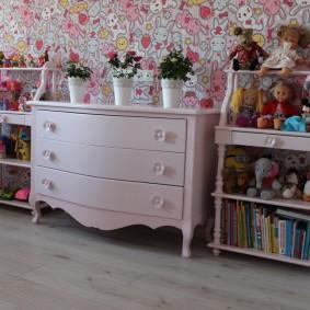 комод для детской комнаты дизайн