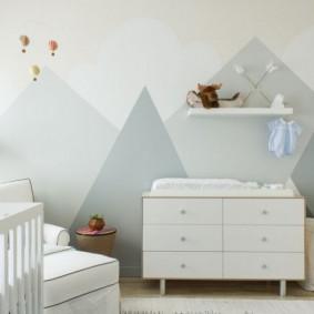 комод для детской комнаты варианты идеи
