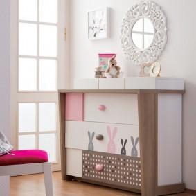 комод для детской комнаты виды идеи