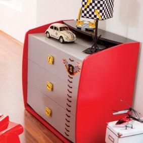 комод для детской комнаты виды дизайна