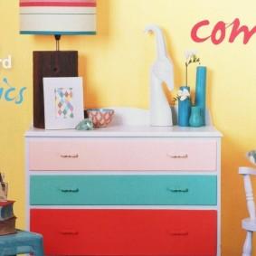 комод для детской комнаты дизайн идеи