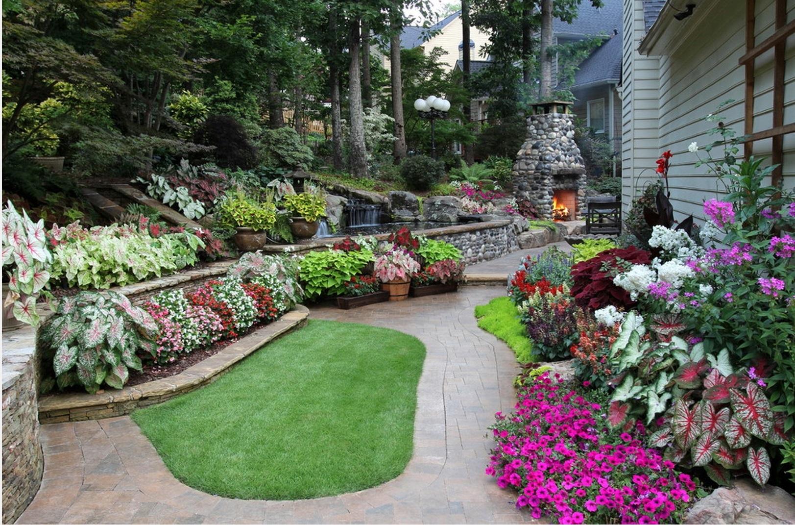 смотреть фото красивых цветников и садов это невероятно