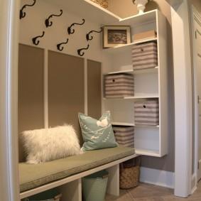 мебельная стенка в прихожую идеи дизайн