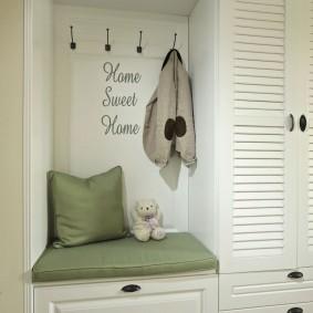 мебельная стенка в прихожую фото декора