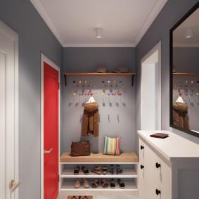мебельная стенка в прихожую интерьер