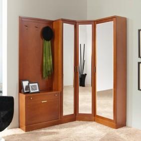 мебельная стенка в прихожую идеи интерьера