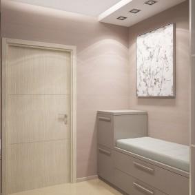 мебельная стенка в прихожую оформление фото