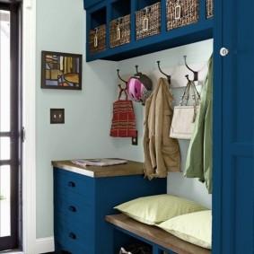 мебельная стенка в прихожую идеи оформление